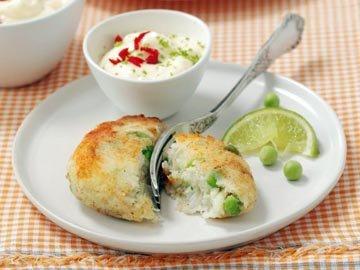 Биточки из рыбы с творогом - диетический рецепт