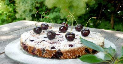 Вишневый пирог рецепт для больных диабетом