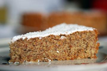 Ореховый пирог хорош как десерт