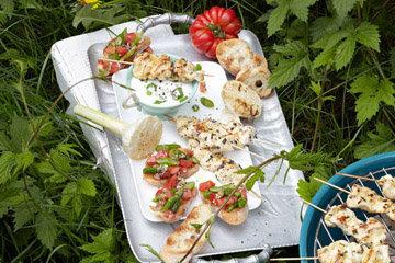 ПОДАТЬ с салатом или с овощами-гриль