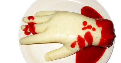 Рецепты на Хэллоуин. Отрубленная рука