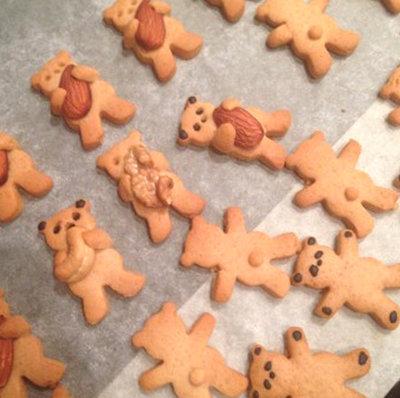 Готово детское печенье мишка косолапый