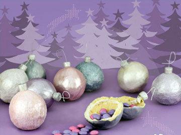 Как сделать печенье Ёлочный шар