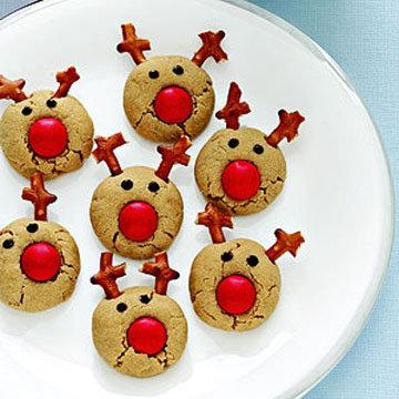 Печенье для детей Олень Рудольф