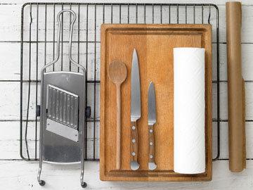 Приготовьте необходимую кухонную утварь