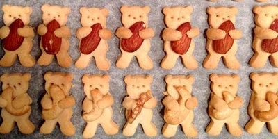 Рецепты на Новый год. Детское печенье Мишка косолапый