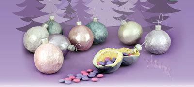 Рецепты на Новый год. Как сделать печенье Ёлочный шар