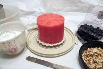 Собрать торт так