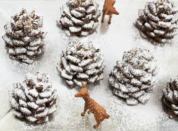 Десерт ЕЛОВАЯ ШИШКА украсит ваш новогодний стол