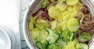 Картофельный салат. Рецепт по-немецки