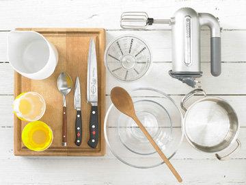 Приготовьте кухонную технику и др. принадлежности