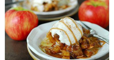 Рецепты к Новому году. Печеные яблоки рецепт ЦВЕТОК