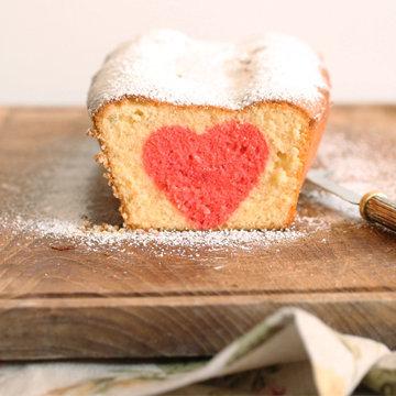 Пирог с сердцем - пирог с сюрпризом