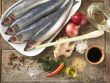 Продукты на 4 рыбки