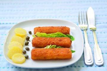 Рыбные палочки - рецепт для детей