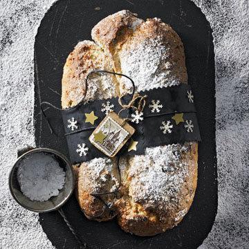 Штоллен — традиционная немецкая рождественская выпечка