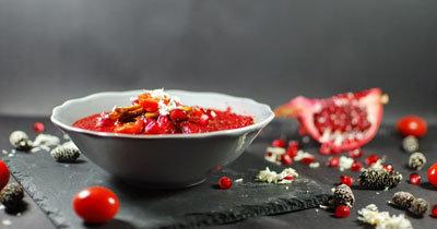 Рецепт овощного супа ко Дню св. Валентина