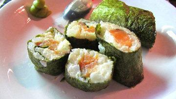 Суши - рецепт с цветной капустой