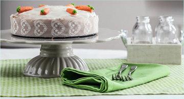 Морковный торт рецепт и подача