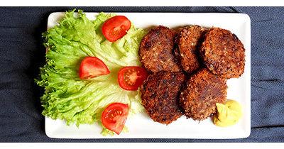 Постные рецепты. Вкусные котлеты рецепт без мяса и яиц