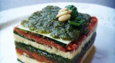 Лазанья - рецепт приготовления с овощами
