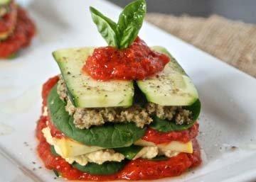 Лазанья - рецепт с овощами
