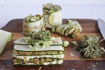 Лазанья с овощами - полезное и вкусное блюдо
