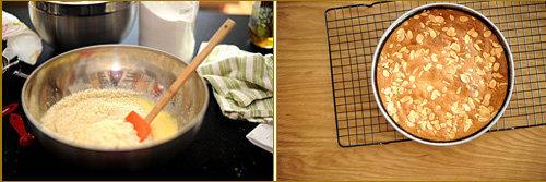 Тесто осторожно вылить в форму. Выпекать 30-45 минут