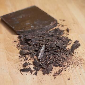 Шоколад порубить