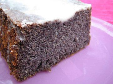 Маковый пирог - без муки