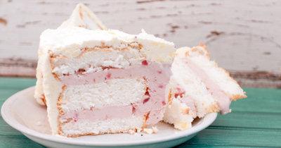 Торт с мороженым внутри рецепт