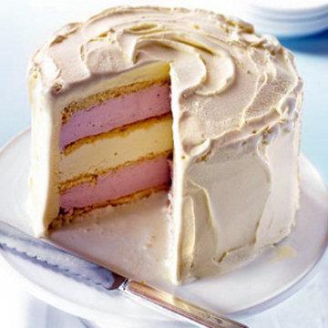 Торт сразу подать
