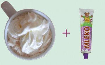 Домашнее мороженое из сгущенного молока и сливок