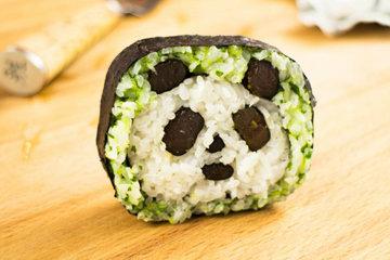 Суши рецепт панда мишек 5