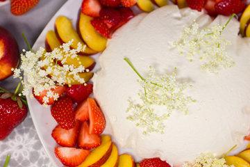 Десерты без выпечки - купол с ягодами 4