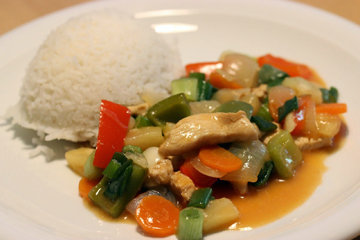 Кисло-сладкий соус для курицы по-азиатски 3