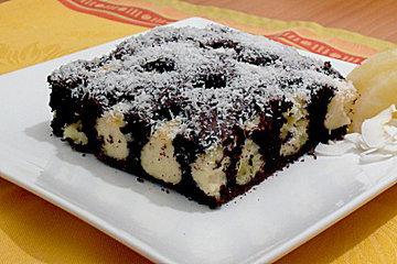 Оформление тортов. Торт с творожными шариками 1