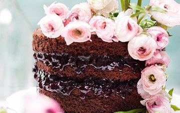 Торт из свеклы