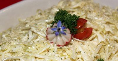 Капустный салат по-русски