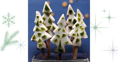 Рецепты на Новый год печенье для детей В лесу родилась елочка...