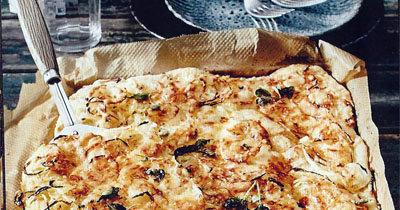 У этой пиццы 2 донышка и 2 начинки