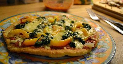 Как приготовить пиццу на сковородке на 14 февраля День святого Валентина