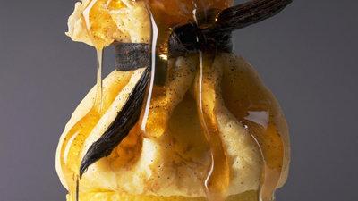 Блины с творогом рецепт в лимоне