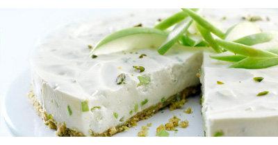 Торт без выпечки рецепт Зеленое яблоко