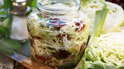 Маринованная капуста рецепт со сливами