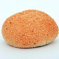 6 булочек для гамбургеров с кунжутом