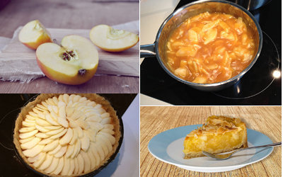 Начинка - яблочный пирог
