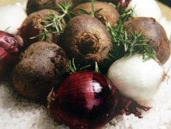Рецепты из овощей запеченные овощи в соли