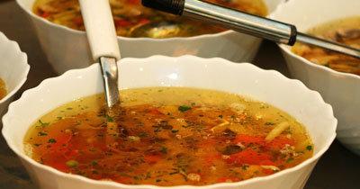 Суп из квашеной капусты