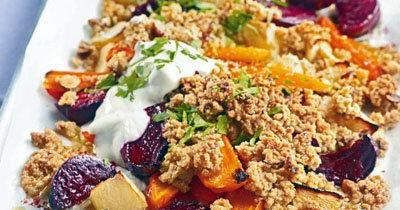 Крамбл. Рецепт с овощами